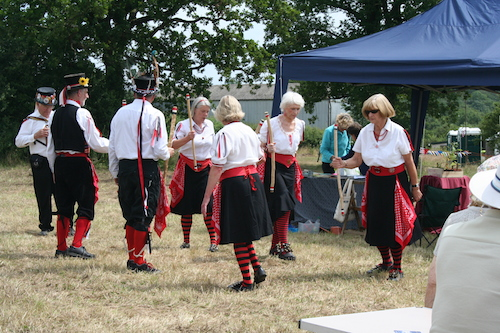 Morris Dancers at the 2013 Festival