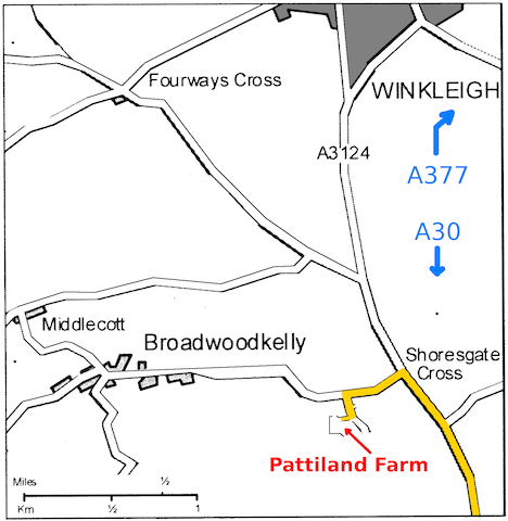 Directions to Pattiland Farm